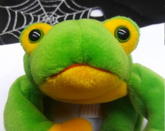 Ty Beanie Babies Smoochy the Frog