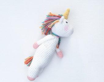 Crochet Unicorn Doll | Crochet Unicorn Amigurumi Toy | Crochet Mythical Creature Plushie