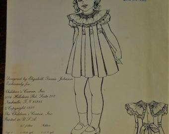 Children's Corner patttern 17 box pleated dress