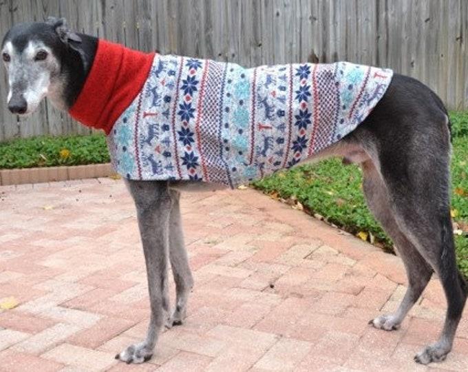 "Whippet Clothing. ""Winter Wonderland Sweater"" - Whippet Sizes"