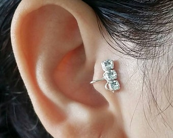 Tragus Earring - Ear Cuff No Piercing - Fake Piercings - Faux Piercing - No Piercing Ear Cuff - Tragus Jewelry - Tragus Earring