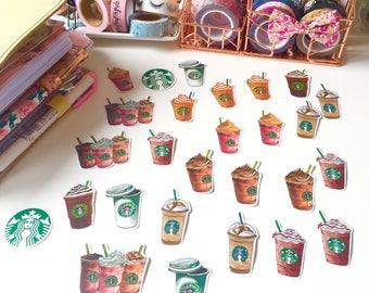 Starbucks Sticker Flakes
