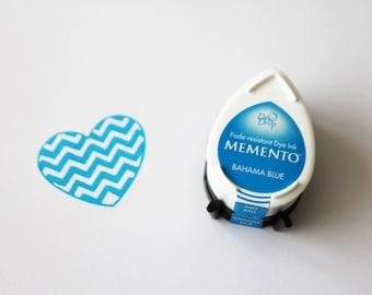 Memento Dew Drop stempelkussen, Bahama Blue MD 601