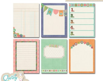 Happy Life Journaling Cards