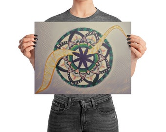 Stubborn Love Synesthesia Mandala
