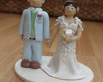 Fimo Wedding Cake Topper