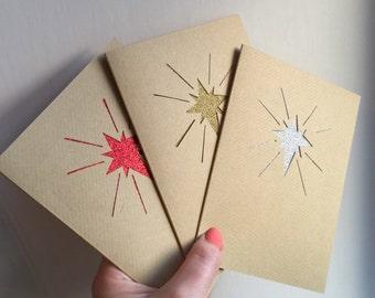 Star of Wonder - Bethlehem Star - Handcut christmas cards - Free UK Shipping