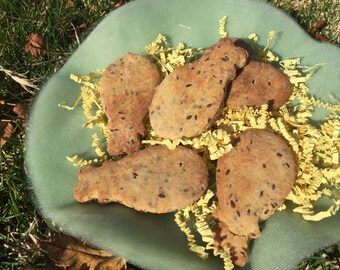 Gluten Free Flax Seed Dog Biscuits