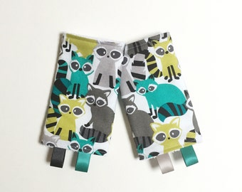 Rowdy Raccoons Drool Pads - lillebaby Beco Ergo Bjorn Boba and MORE