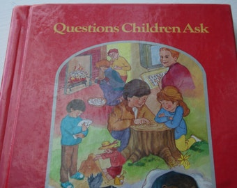 Questions Children Ask , 1994 ,  Entertaining Book for Childrens, Educational Book for Child, Standard Educational Corporation