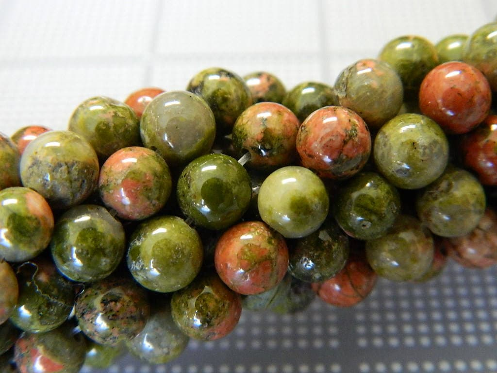 gemstone unakite beautiful natural auctions untreated naturaluntreated ct