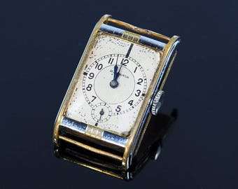 Art Deco Men Watch Hispania