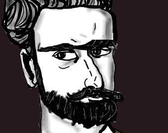 Portrait of Escher