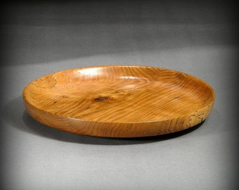 Wormy Butternut Wood Platter (PL20)