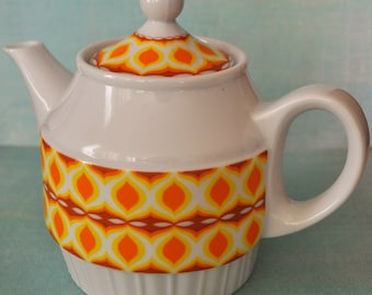 Vintage Mod Teapot