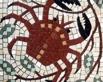 Star sign mosaic - Cancer