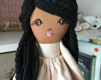Rag Doll Cloth Doll Dolls Fabric Doll Rag Dolls Dolls Handmade Fabric Dolls Cloth Dolls Doll Heirloom Doll African American Doll