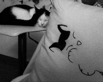 pillow Dormigino cat