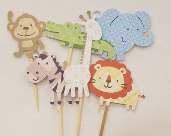 Safari Cupcake Picks