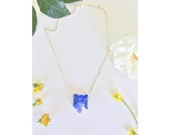 Triple Quartz Crystal Necklace