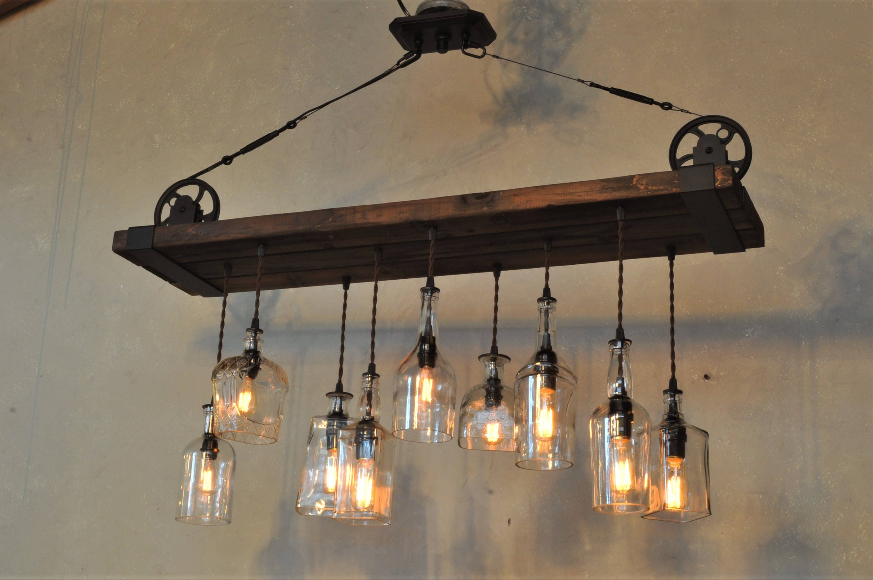 The Chesapeake Reclaimed Wood chandelier