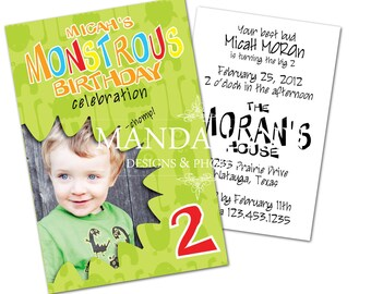 Monster Party Printable Kit