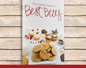 Best Bites Recipe Book - Adoption Fundraiser - Family Cookbook - Recipe Collection