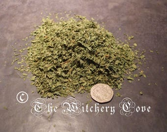 Fenugreek Leaves dried and coarsely ground per 10 grams Prosperity and Money