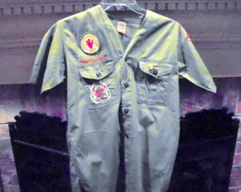 Boy Scouts of America 1960's Uniform Shirt