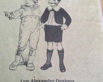 antique boy doll wardrobe