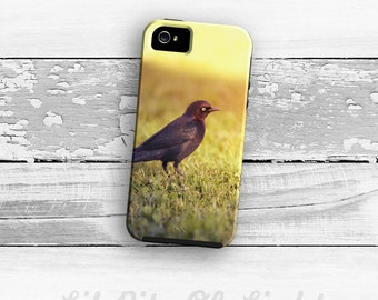 iPhone 6s Case - Nature iPhone 6s Plus Cover - Black bird iPhone 8 Case - Bird iPhone 8 Plus Case - iPhone 5 Case - iPhone 6 Case
