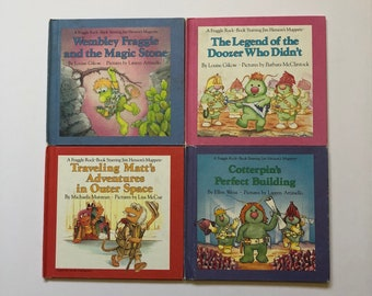 1980's Fraggle Rock Books