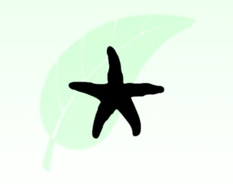 Star Fish Vinyl Decal Sticker 012