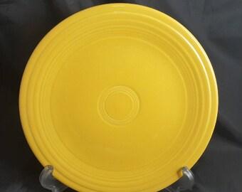 Vintage Fiesta Yellow Luncheon Plate