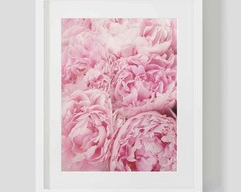 Pink Peonies Digital Print