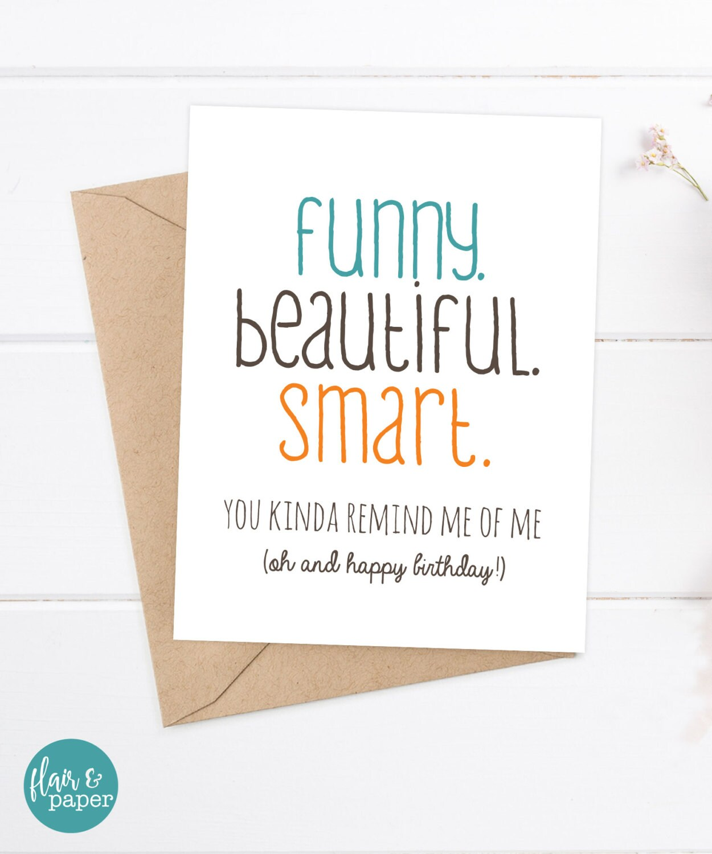 Girlfriend Birthday Card / Friend Birthday / Sister Birthday