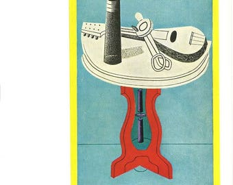 Egg Beater V Stuart Davis - gift for artists - gift for art lovers -- matted and ready to frame for 8 by 10