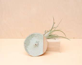 Turquoise Incense Holder / Ceramic Incense Burner / Modern Home Decor