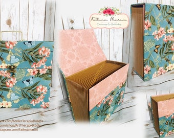 Expandable accordion recipe file, Mother's Day Gift, Featured Sections, Bills, Recipe, Alphabetizing, Portable File, Organizer Filing System
