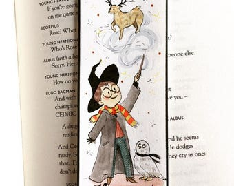 Harry Potter - Bookmark illustration