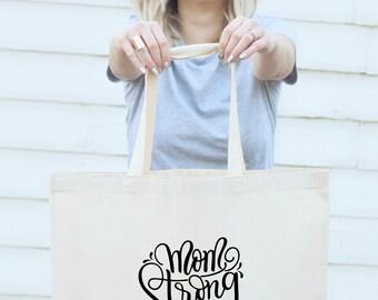 Big Tote bag - Mom Strong