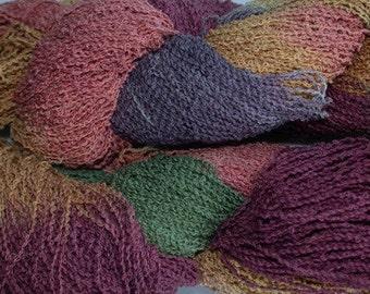 Fine Cotton Boucle yarn - Old Brass