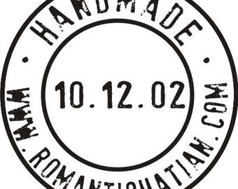 Custom Handmade By Rubber Stamp, Self Inking