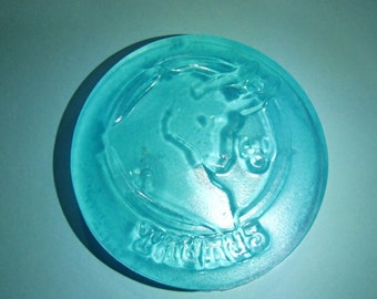 Blue Taurus Sign Glycerin Soap