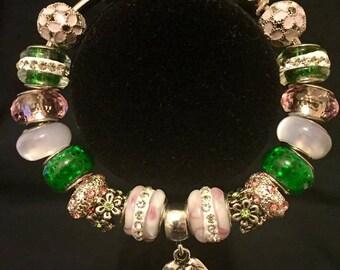 e9c1d7f59 Alpha Kappa Alpha Charm Bracelet .