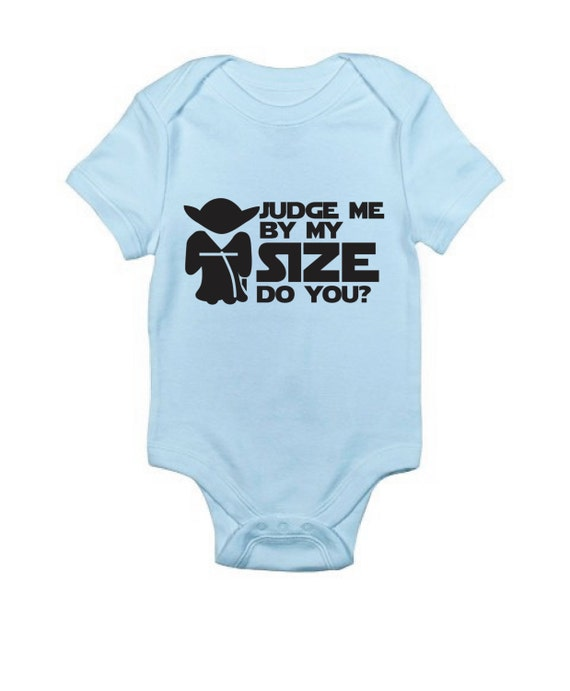 Yoda Star Wars Baby Clothing I Am A Jedi Funny Baby
