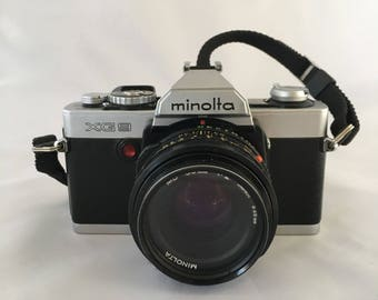 Vintage Camera, Minolta XG9 camera, Film Camera, 35mm Camera, Japanese Camera, 1970's Camera, Collectable Camera, Vintage SLR Camera