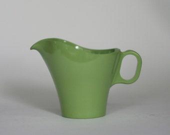 vintage boonton ware creamer green