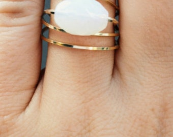 gold wire wrap ring
