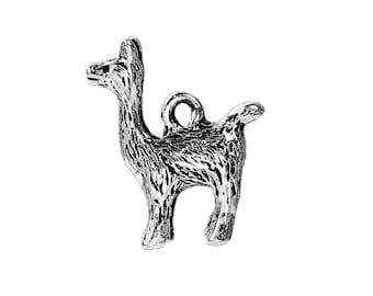 Alpaca - Llama - Charm -- Clip On -- Ready to Wear